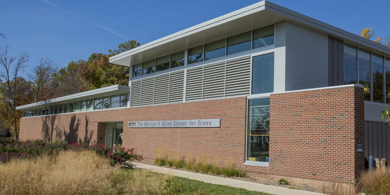 Glick Center for Glass receives Silver LEED certification